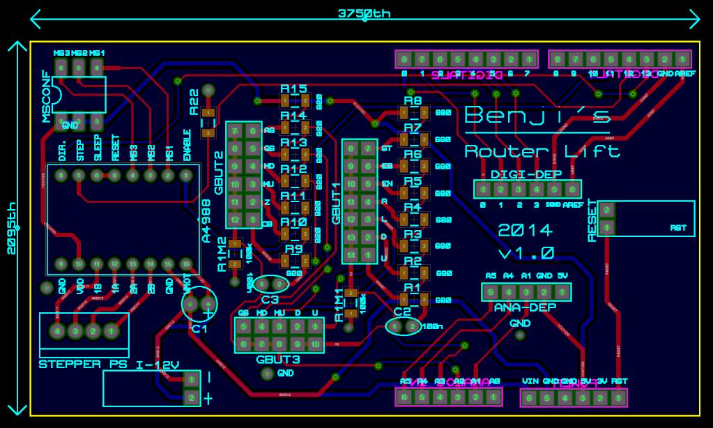Commande numérique pour montée/descente d'outil - Page 6 Pcb310