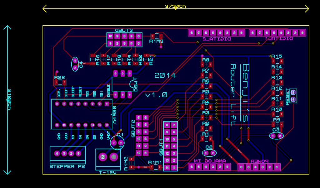 Commande numérique pour montée/descente d'outil - Page 5 Router16