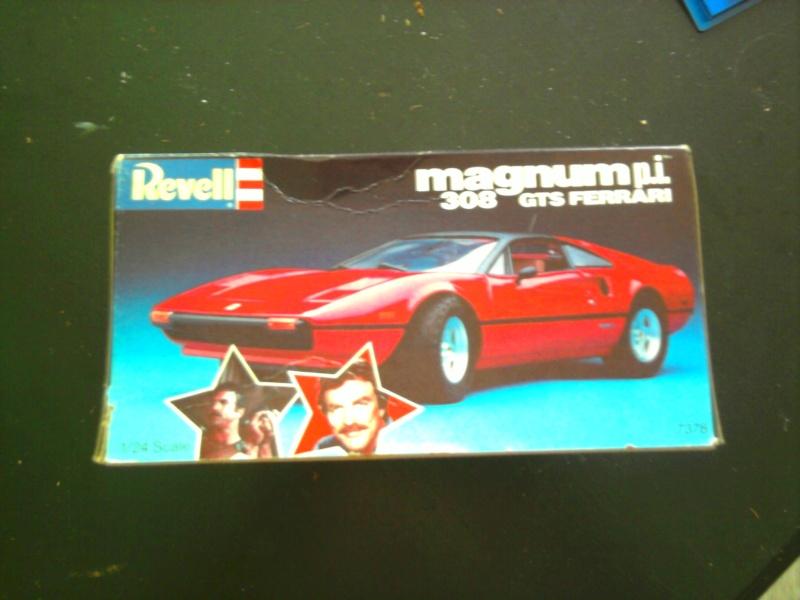 Revell Magnum P.I Ferrari 308 GTS 1:24 03_11