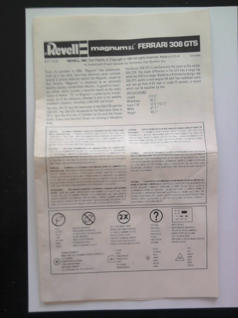 Revell Magnum P.I Ferrari 308 GTS 1:24 04_11