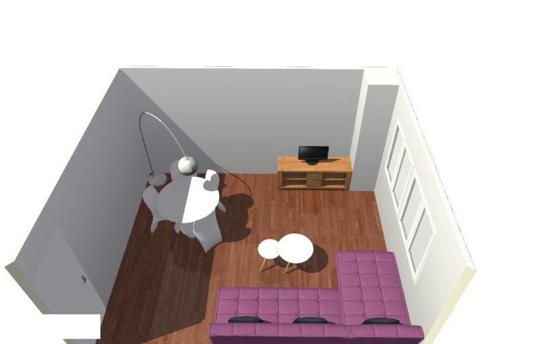 Peinture, aménagement et déco pour mon nouveau salon!  Salon110