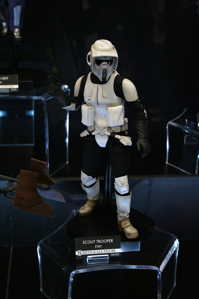 Scout Trooper Sixth Scale Figure 14734412