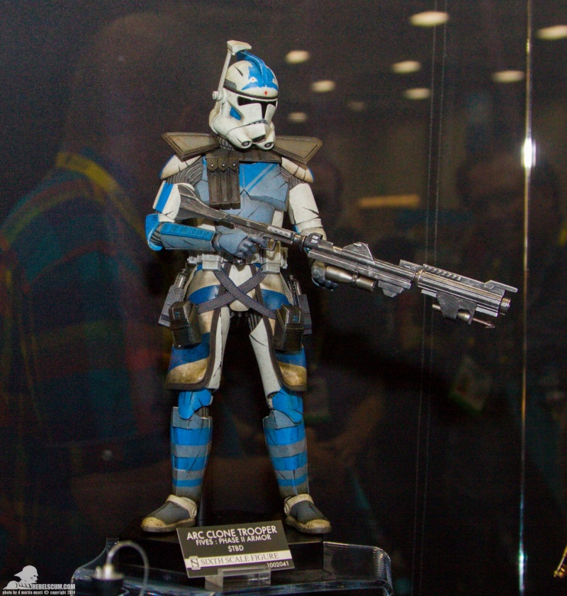CLONE WARS - ECHO & FIVES ARC TROOPERS Sdcc-214