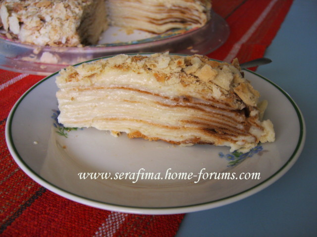 Торт Наполеон с нежным заварным кремом 7818ba10