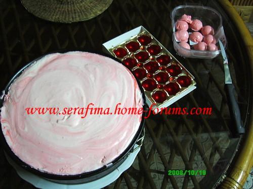Бисквитный торт с клубничным суфле Img4f911