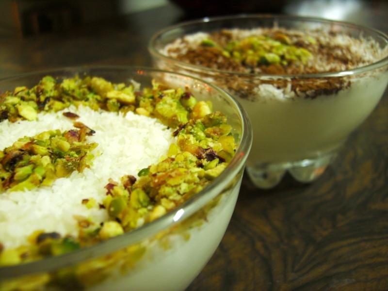 Арабский - Махлябия - сладкий молочный арабский десерт Mahlya10