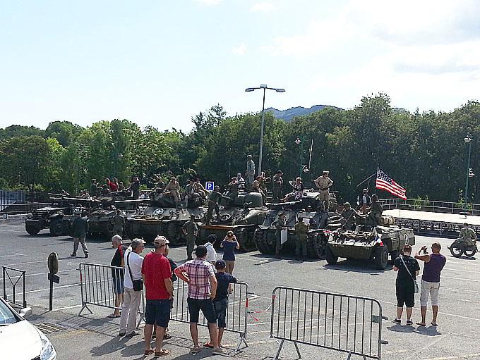 Commémoration du débarquement de Provence et de la Libération du Muy et de Vidauban Chars10