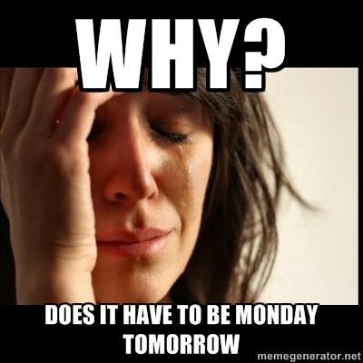 Tomorrow is Monday 20391010
