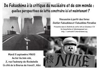 De Fukushima à la critique du nucléaire  0131110