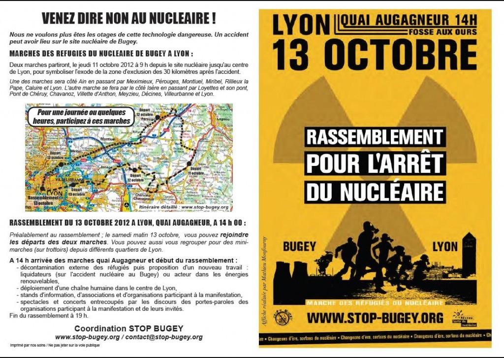 DU 11 AU 13 OCTOBRE 2012 – MARCHE DES REFUGIES DU NUCLEAIRE Marche12