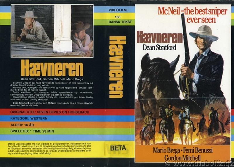 I sette del gruppo selvaggio (Inédit en France) - 1972 ou 1975 - Gianni Crea - _seven10