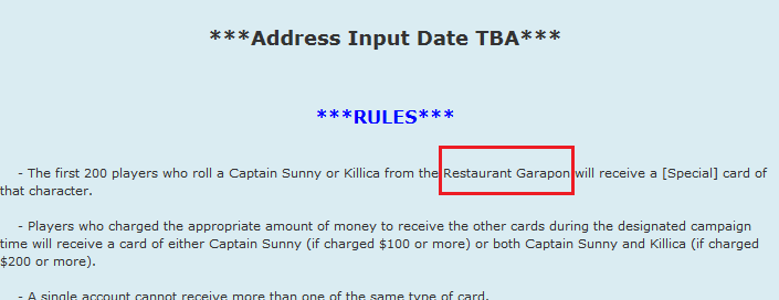 19/06/2014:*Pirates outbreak in both shop & Gara (finally)hits CB!+Related capaigns YARRrrrrr-shot-* Sem_ta11