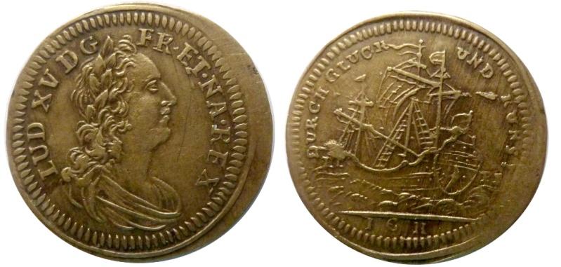Nuremberg Louis XV Jeton_14