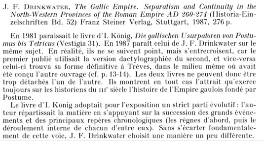 The Gallic Empire  Drink10