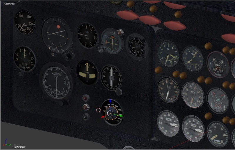 Cockpit du Breguet 765 Sahara Captur11