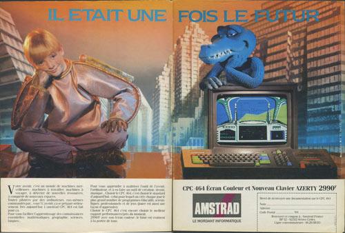 la plus belle pub retro pour un micro 8bit ? Amstra10