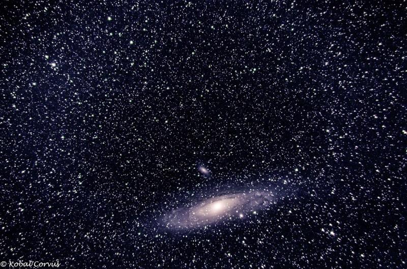 M31 ma première galaxie ;) M31-2-10