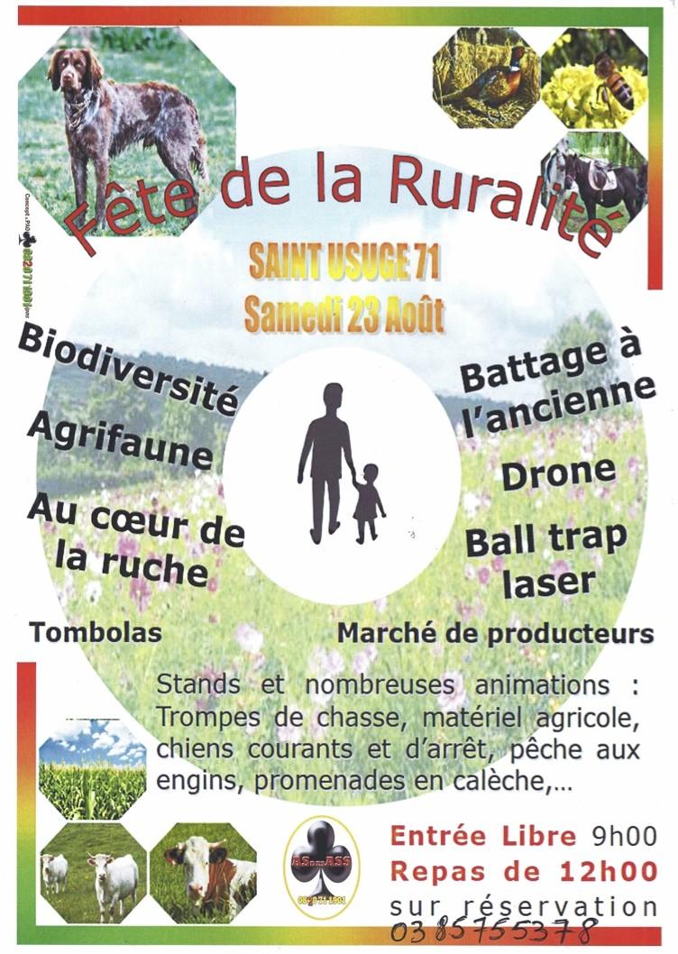 Fête de la ruralité le 23 août à St Usuge (71) Fete_s11