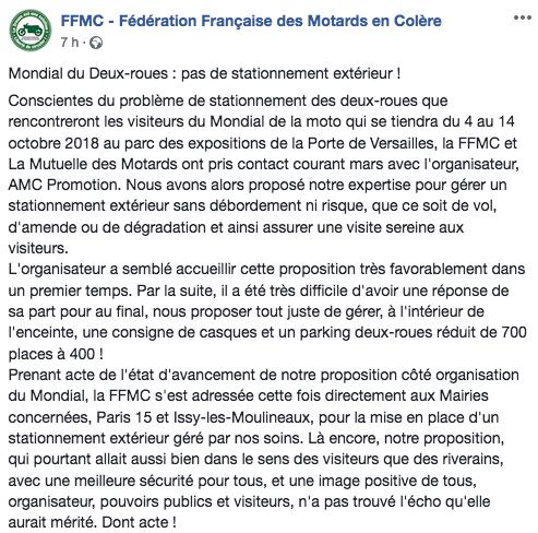 Mondial de la Moto 2108 PARIS du 04 au 14 octobre Captur73