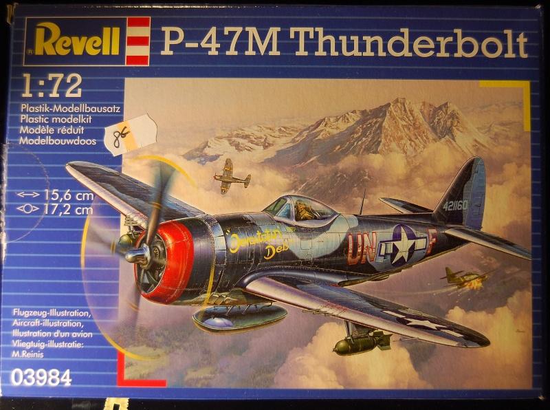 P-47M Revell 1/72 Maket210