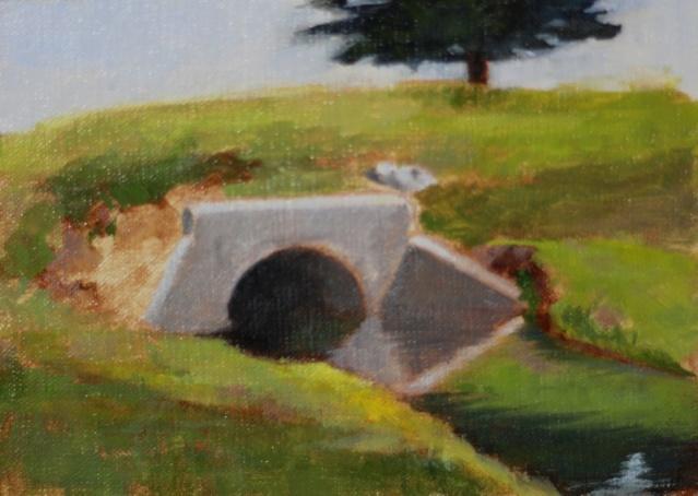 Painting #97: Plein Air- Bethany Park (Allen, Texas) Bethan12