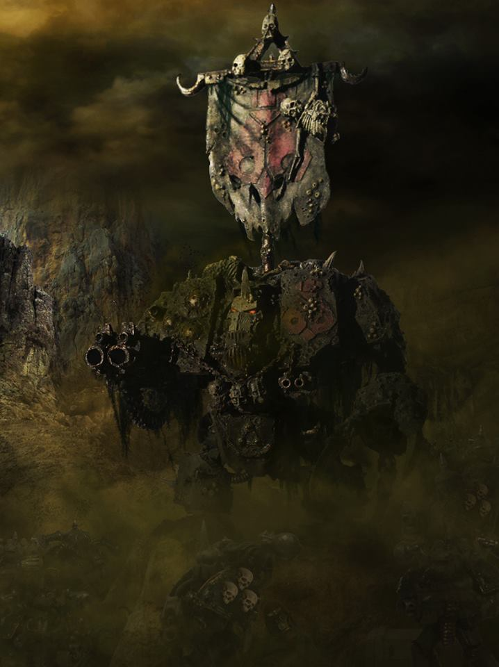 [W40K] Collection d'images : Space Marines du Chaos - Page 6 Nurgle10
