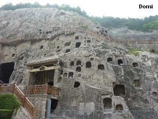 La Chine sac au dos (32)  Luoyang (洛阳), Grottes de Longmen (龙门石窟) Henan (河南). Sur la route des anciennes Capitales 12a_gr10