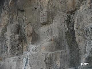 La Chine sac au dos (32)  Luoyang (洛阳), Grottes de Longmen (龙门石窟) Henan (河南). Sur la route des anciennes Capitales 14a-lo10