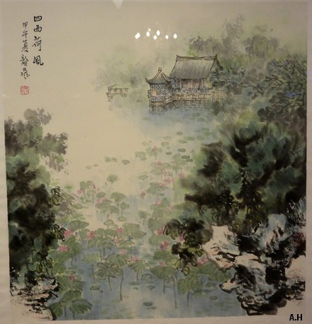 Dessine-moi la Chine 25 - 描绘中国之二十五 : Les Jardins de Suzhou et ses 4 saisons - 苏州园林四季 Gl310