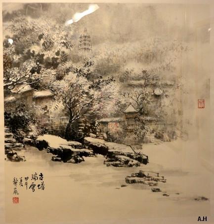 Dessine-moi la Chine 25 - 描绘中国之二十五 : Les Jardins de Suzhou et ses 4 saisons - 苏州园林四季 Gl510