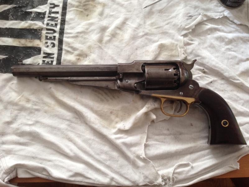 Réaliser un bronzage tabac sur une reproduction de Remington 1858. - Page 3 Photo_10