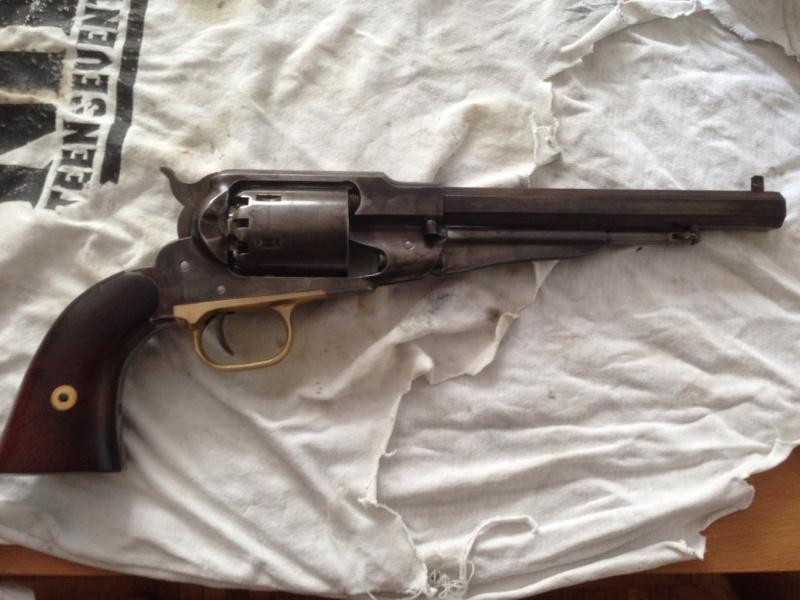 Réaliser un bronzage tabac sur une reproduction de Remington 1858. - Page 3 Photo_12