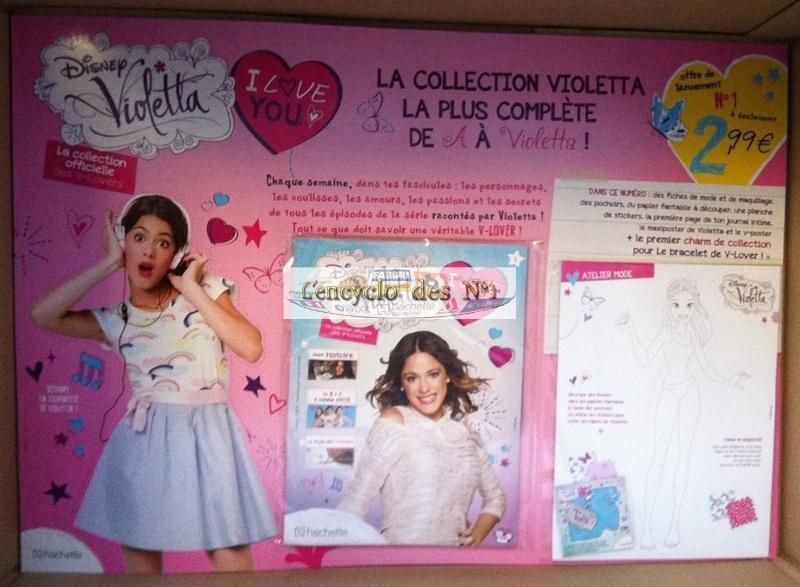 N° 1 Disney Violetta I love You - Collection Hachette - Sept 2014 Ar3hdr10