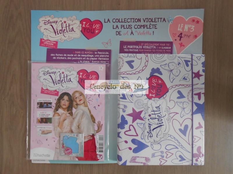 N° 1 Disney Violetta I love You - Collection Hachette - Sept 2014 Violet10