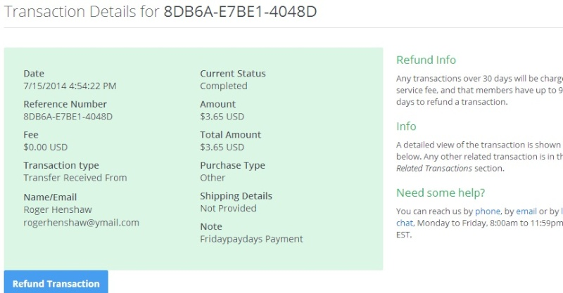 fridaypaydays GPT MY 3RD PAYMENT PROOF Friday13