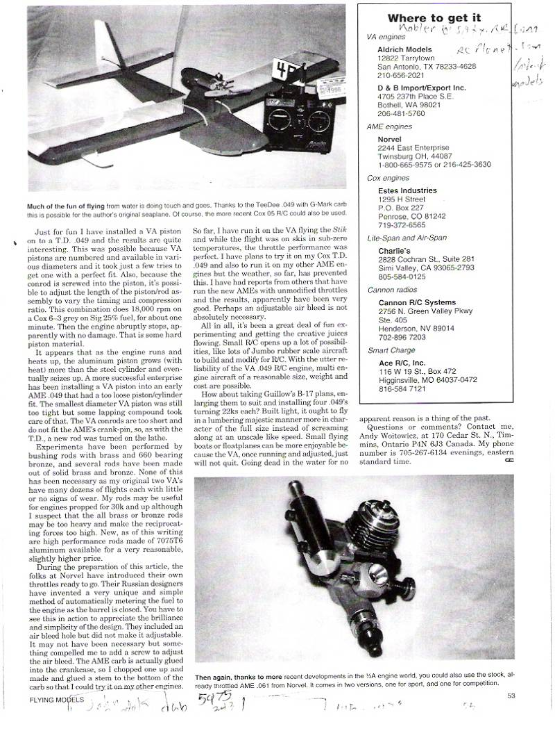 Russian VA .020 engines - Page 4 12a_ca16