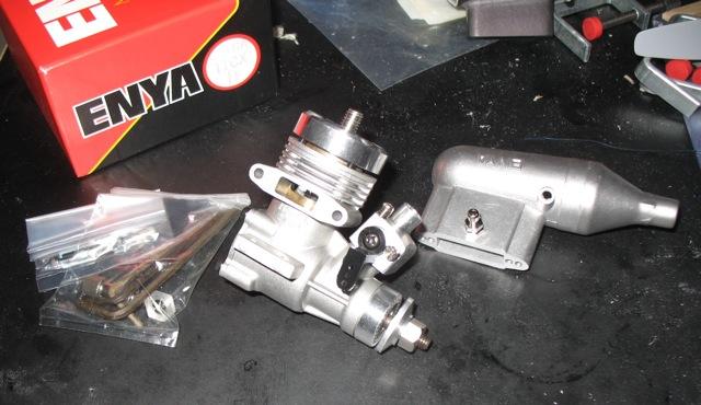 Last of the Enya Diesel engines purchased off of Enya's website. Img_0912