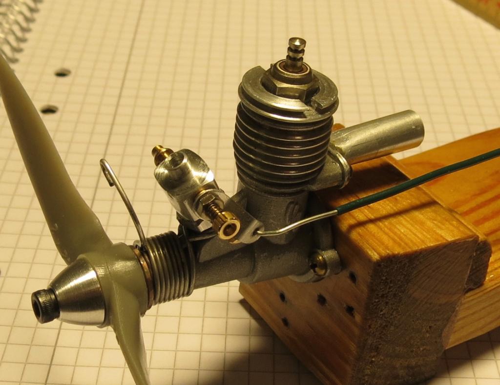 Engine rebuild - giving it the needle Img_3314