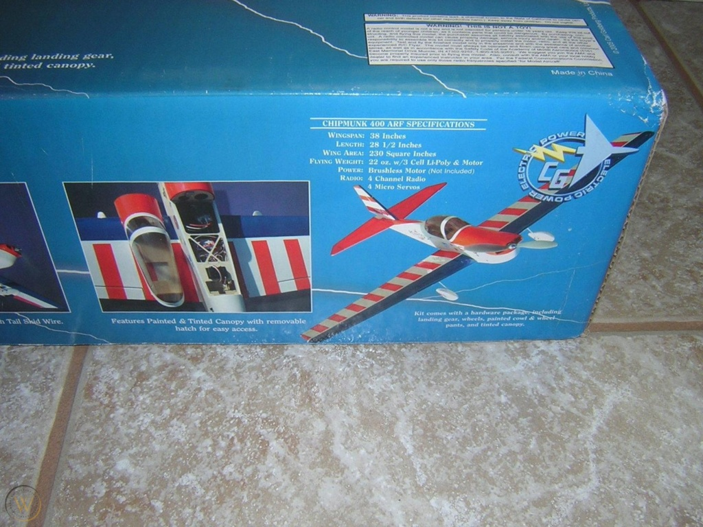 Goldberg Super Chipmunk EP ARF (Great Planes) Specs_10