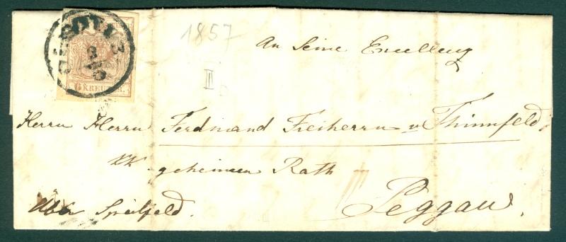Briefe oder Karten von/an berühmte oder bekannte Personen 1850_b10