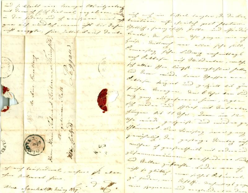 Briefe oder Karten von/an berühmte oder bekannte Personen 1850_b12