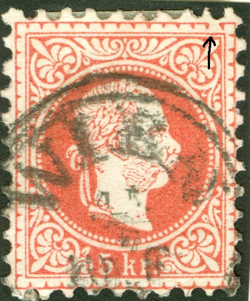 Freimarken-Ausgabe 1867 : Kopfbildnis Kaiser Franz Joseph I - Seite 7 1850_f10