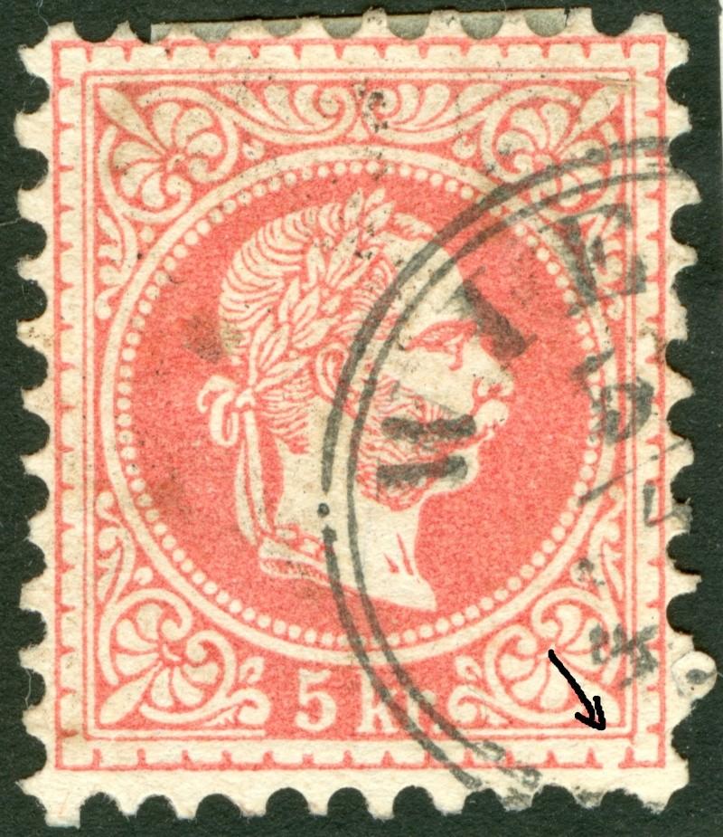 Freimarken-Ausgabe 1867 : Kopfbildnis Kaiser Franz Joseph I - Seite 7 1850_f11