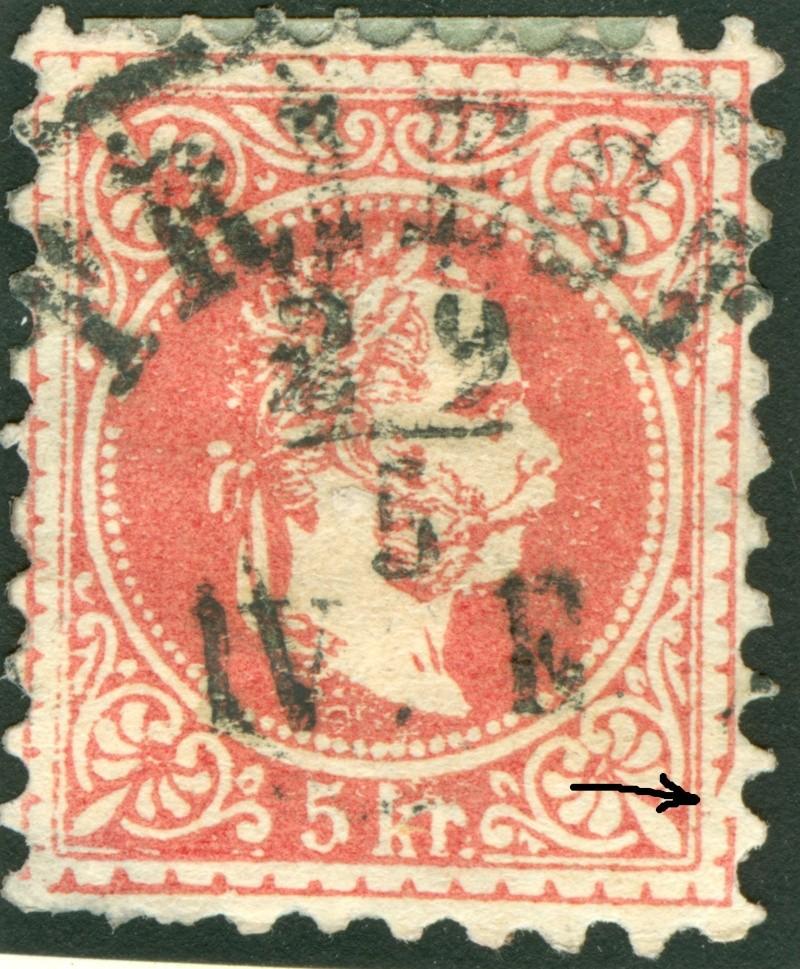 Freimarken-Ausgabe 1867 : Kopfbildnis Kaiser Franz Joseph I - Seite 7 1850_f12