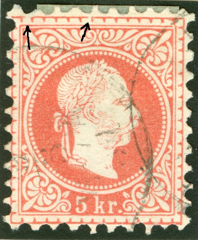 Freimarken-Ausgabe 1867 : Kopfbildnis Kaiser Franz Joseph I - Seite 7 1850_f13