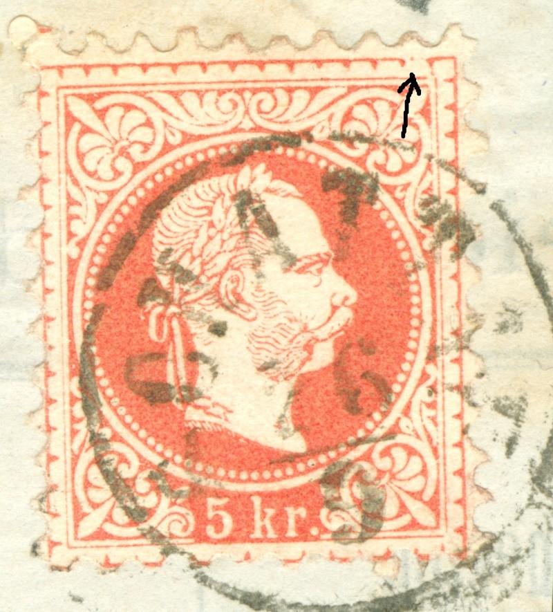 Freimarken-Ausgabe 1867 : Kopfbildnis Kaiser Franz Joseph I - Seite 7 1850_f14