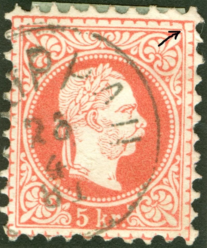 Freimarken-Ausgabe 1867 : Kopfbildnis Kaiser Franz Joseph I - Seite 7 1850_f17