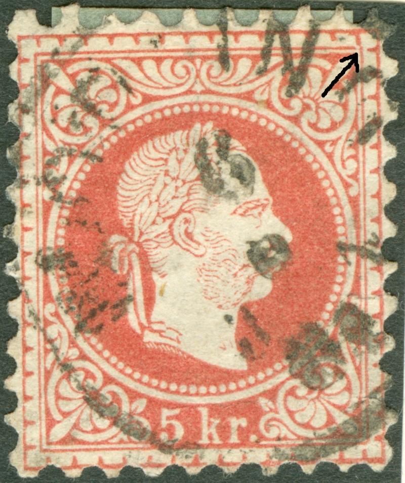 Freimarken-Ausgabe 1867 : Kopfbildnis Kaiser Franz Joseph I - Seite 7 1850_f18