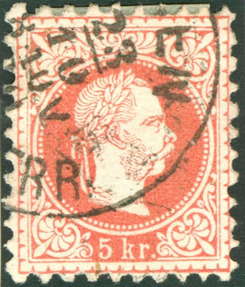 Freimarken-Ausgabe 1867 : Kopfbildnis Kaiser Franz Joseph I - Seite 8 1867_518