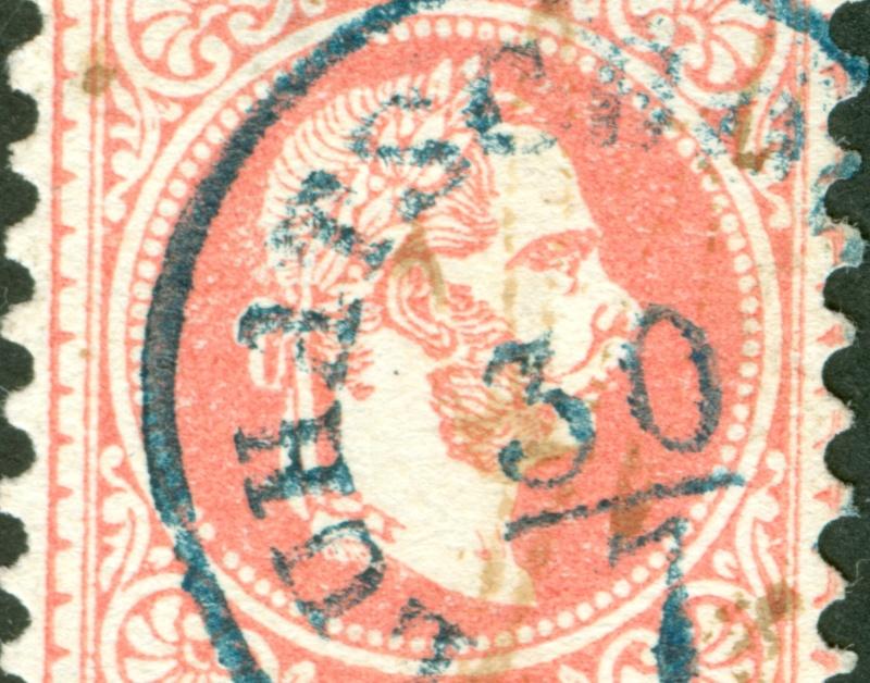 Freimarken-Ausgabe 1867 : Kopfbildnis Kaiser Franz Joseph I - Seite 8 1867_520